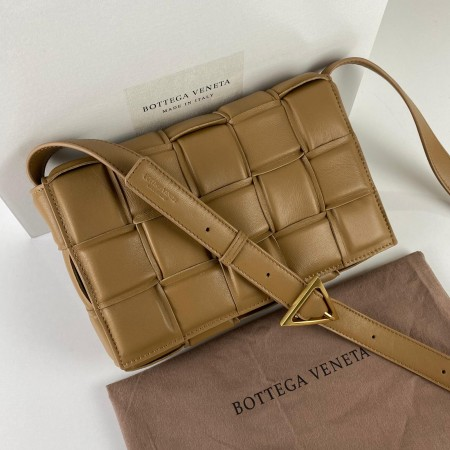 BOTTEGA VENETA PADDED CASETTE BAG TABA