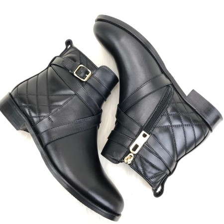 BURBERRY QUİLTED ANKLE BOOTS