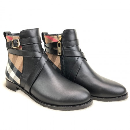 BURBERRY QUİLTED ANKLE BOOTS SPECİAL