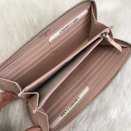 CHANEL CLASSİC WALLET PUDRA PEMBESİ