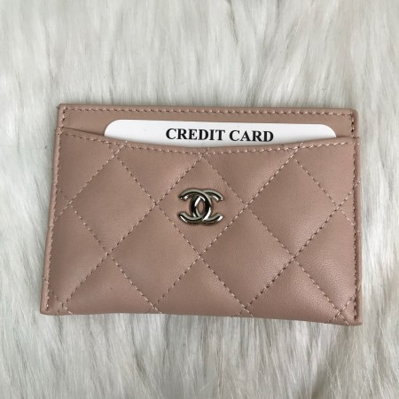 CHANEL CLASSİC CARD HOLDER PUDRA PEMBESİ
