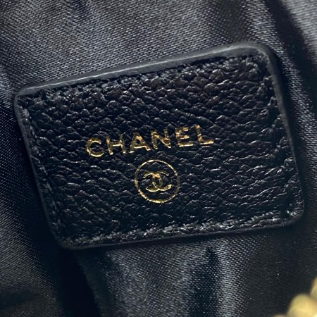 CHANEL 19 PHONE & CARD HOLDER SİYAH CAVİAR
