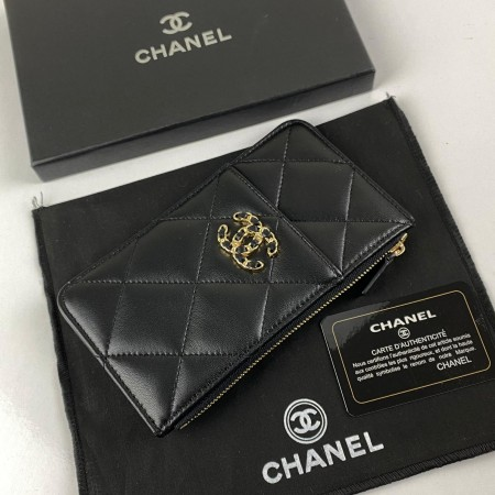 CHANEL 19 PHONE & CARD HOLDER SİYAH