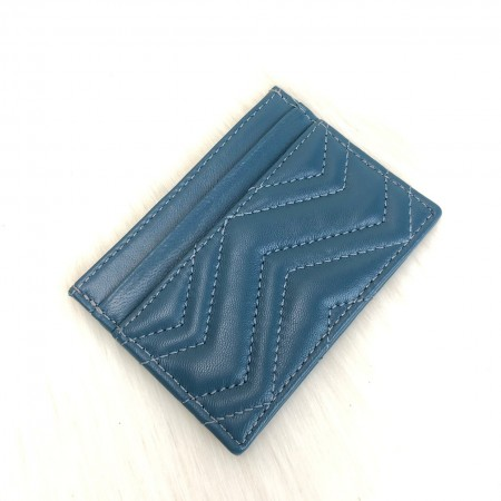 GUCCİ MARMONT CARD HOLDER TURKUAZ