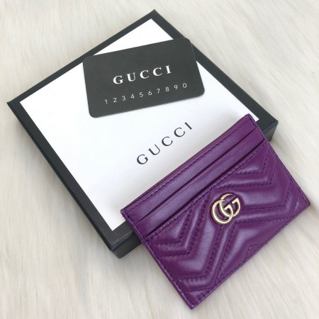 GUCCİ MARMONT CARD HOLDER MOR