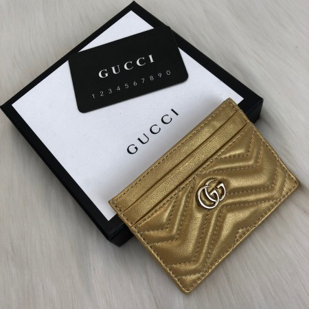 GUCCİ MARMONT CARD HOLDER SARI