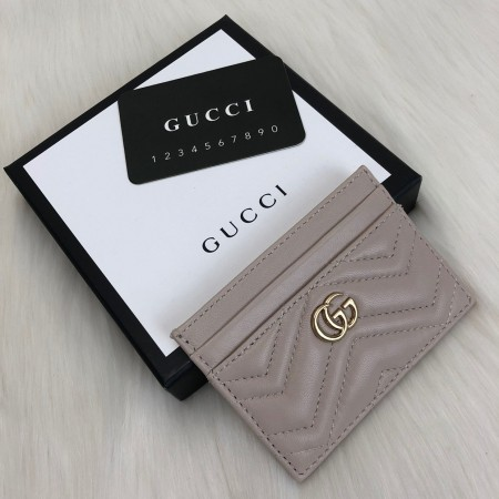 GUCCİ MARMONT CARD HOLDER VİZON