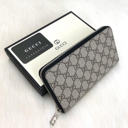 GUCCİ İMPRİME ZİP-AROUD WALLET BLACK LİMİTED