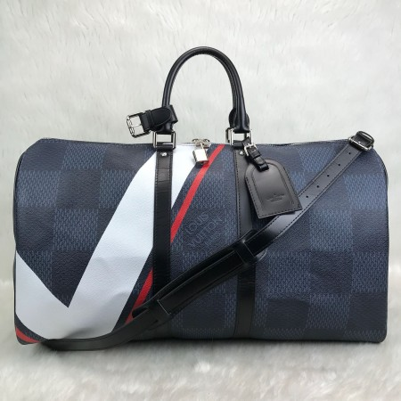 LOUİS VUİTTON KEEPALL BANDOULİERE 55 AMERİCAN CUP NEW